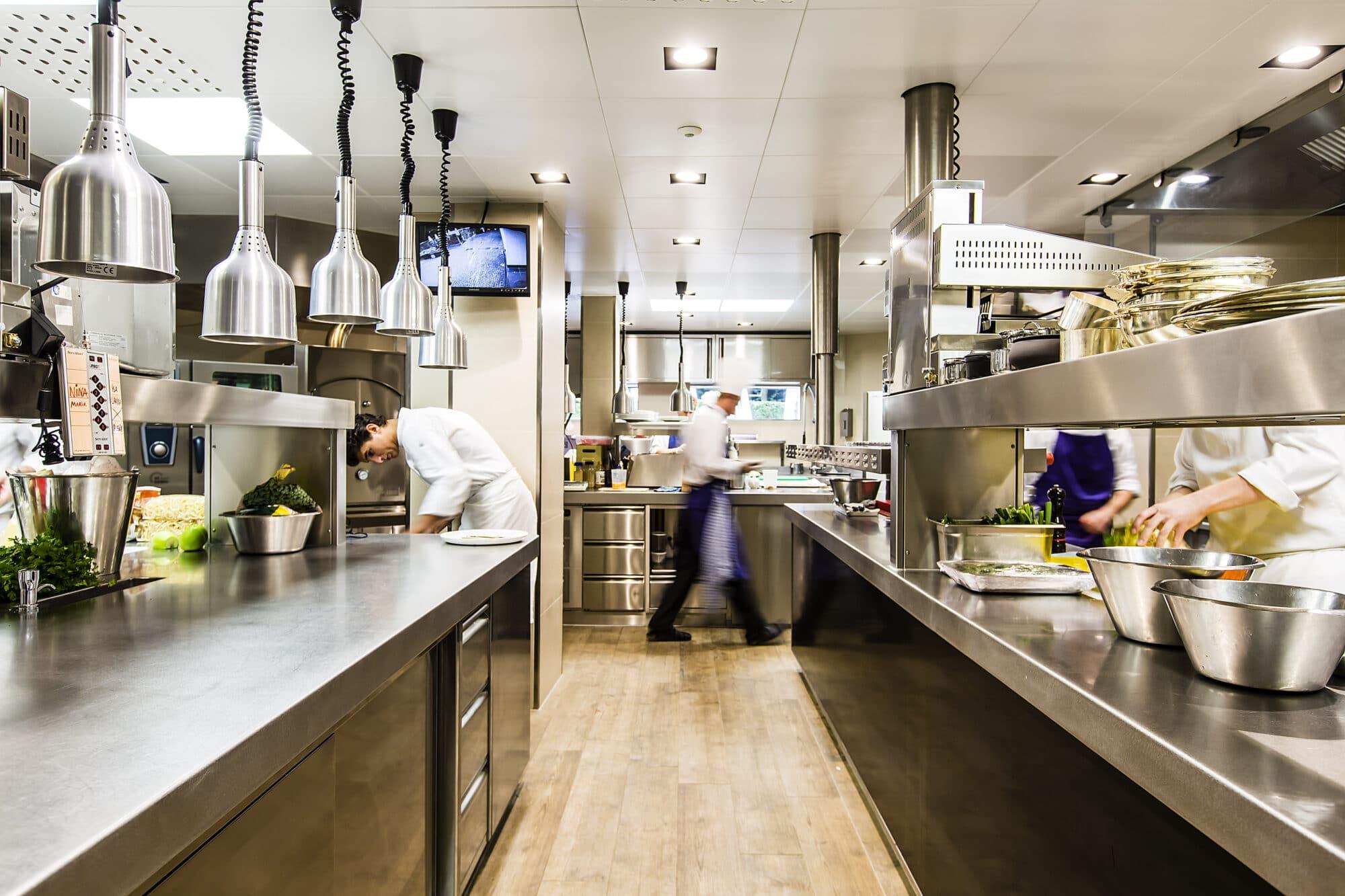 Onderhoud in professionele keukens