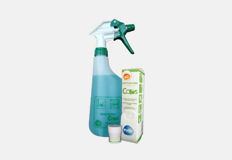 PolBio Odor Control Enzysan 2000 caps schoonmaakmiddel sanitair geurvernietiger