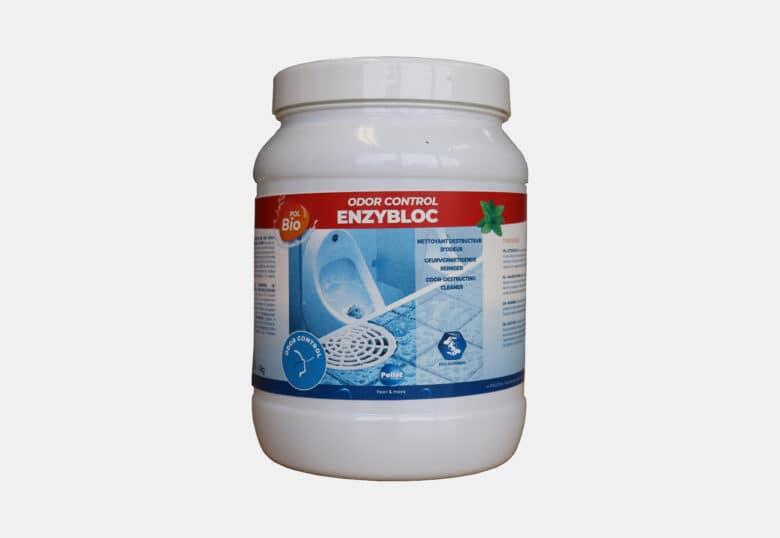 PolBio Odor Control Enzybloc ontkalker toiletblok