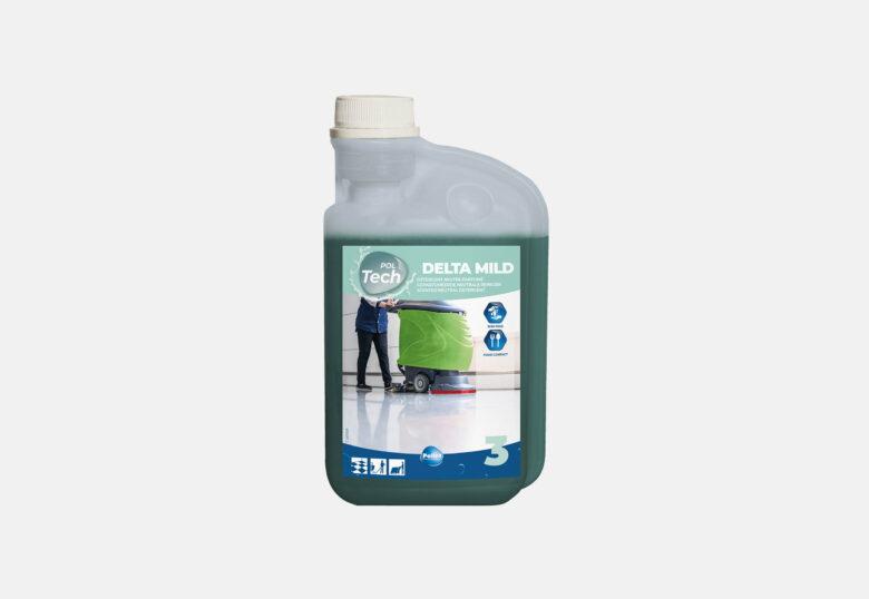 PolGreen Delta Mild neutraal schoonmaakmiddel voor kwetsbare vloeren