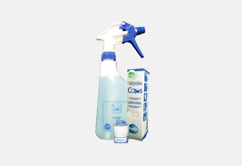 PolGreen Odor Line Indoors reinigend product alle oppervlakken met frisse geur in caps