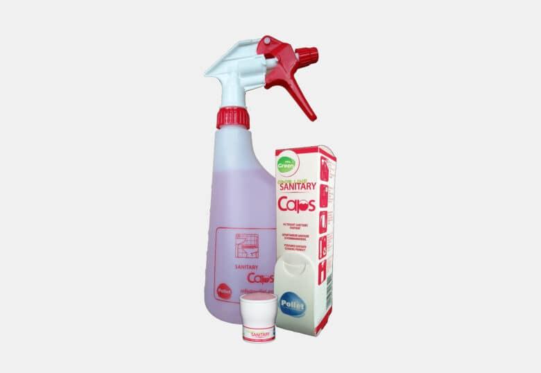 PolGreen Odor Line Sanitary Caps schoonmaakmiddel voor sanitair in caps