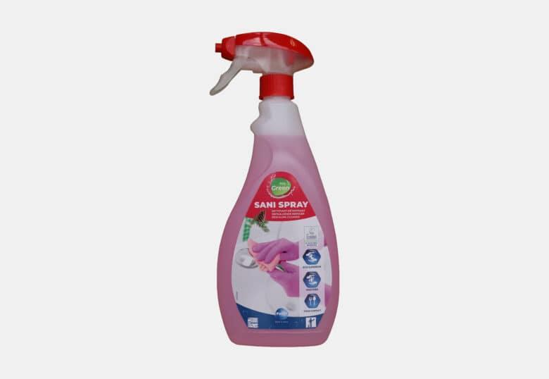 PolGreen Sani Spray ecologisch ontkalkend schoonmaakmiddel