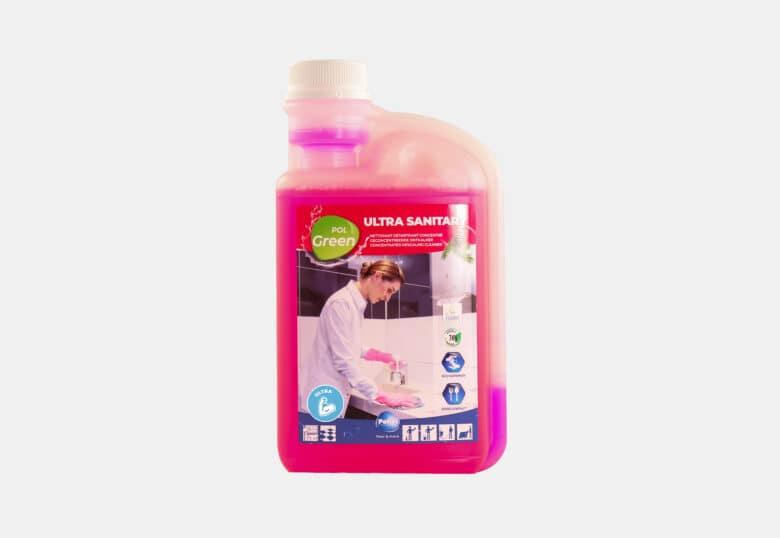 PolGreen Ultra Sanitary ultra geconcentreerd ecologisch reinigingsmiddel voor sanitair