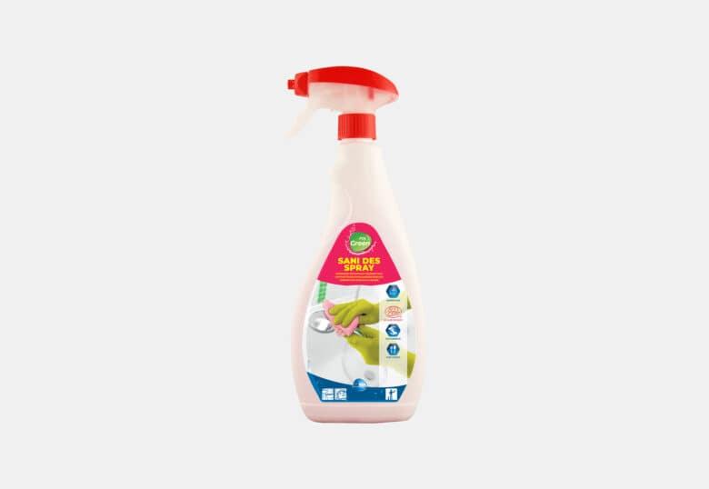 PolGreen Sani DES Ontkalkende en desinfecterende spray voor sanitair