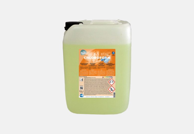 PolTech Chlorofoam schuimende ontvetter met chloor voor voedselomgeving