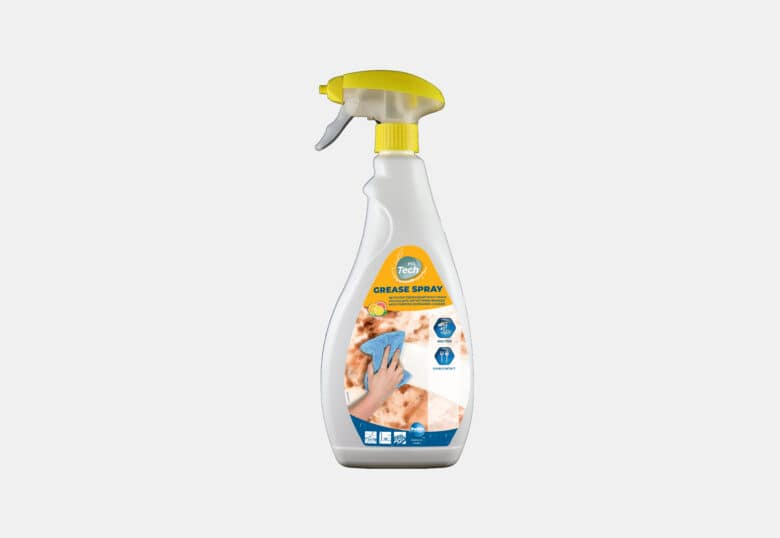 PolTech Grease Spray ontvettend schoonmaakmiddel en vlekverwijderaar